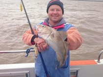 Matt Osborne with a Cod