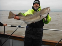 Richard Russell cod 84cm 15lb 6oz