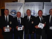 Executive four man winners