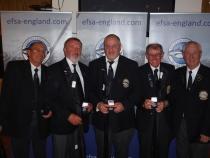 Four man open winners John Fisell Richard Russell Tony Swain Kim Bowden