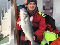 Ray Ashby Boat Caught Bass 9lb 8oz 2019
