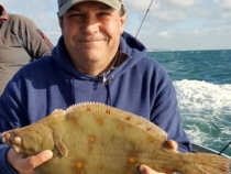 Andy Smith Plaice 3lb 8oz 2016