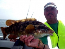 billy-short-and-a-ballan-wrasse