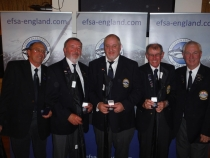 Four man open winners John Fisell Richard Russell Tony Swain Kim Bowden