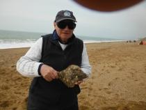 Keith Scaggs, 29cm flounder