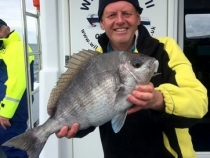 Ray Barron Black Bream 4lb 12oz 2017