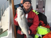 Ray Ashby Boat Caught Bass 9lb 8oz 2019