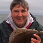 Paul Hart with nice plaice